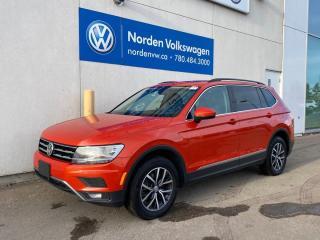 Used 2018 Volkswagen Tiguan COMFORTLINE 4MOTION - LEATHER / SUNROOF / VW CERTIFIED for sale in Edmonton, AB