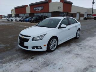 Used 2014 Chevrolet Cruze LTZ 4dr FWD Sedan for sale in Steinbach, MB