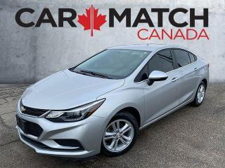 Used 2017 Chevrolet Cruze LT / NO ACCIDENTS / ALLOY'S for sale in Cambridge, ON