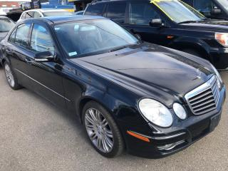 Used 2007 Mercedes-Benz E-Class 3.5L for sale in Mississauga, ON