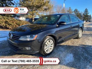 Used 2017 Volkswagen Jetta Sedan WOLFSBURG; SUNROOF, HEATED SEATS, BACKUP CAMERA, BUTTON START, BLUETOOTH for sale in Edmonton, AB