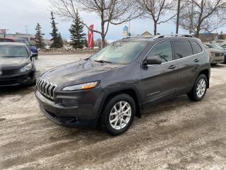 Used 2016 Jeep Cherokee NORTH; 4X4, HEATED SEATS/WHEEL, CAR STARTER, BACKUP CAMERA!! for sale in Edmonton, AB