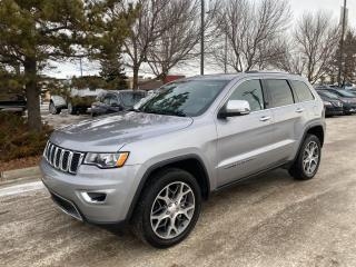 Used 2020 Jeep Grand Cherokee LIMITED; AUTOMATIC, 4X4, HEATED SEATS, LEATHER, NAV, BACKUP CAMERA, BLUETOOTH!!! for sale in Edmonton, AB