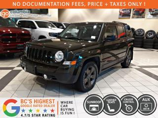 Used 2017 Jeep Patriot 75th Anniversary - Sunroof / Leather / No Dealer Fees for sale in Richmond, BC