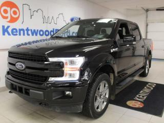 Used 2019 Ford F-150 Lariat Sport | 4x4 | 3.5 Ecoboost | Nav | Leather | Sunroof | One owner for sale in Edmonton, AB