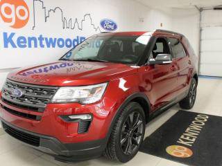 Used 2018 Ford Explorer XLT | 4x4 | Third Row | Heated Leather | Sunroof | One Owner | Clean Carproof for sale in Edmonton, AB