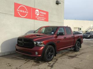 Used 2019 RAM 1500 Classic Classic Express Night / Crew Cab / 8.4inch Touch Screen / Dual Exhaust for sale in Edmonton, AB