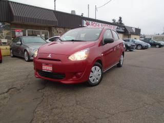 Used 2015 Mitsubishi Mirage 4dr HB AUTO GAS SAVER PW PL PM B-TOOTH LOW KM for sale in Oakville, ON