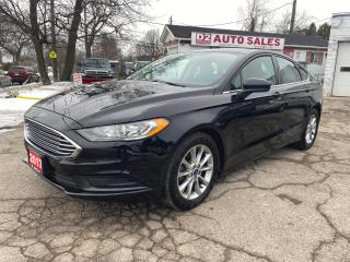 Used 2017 Ford Fusion Automatic/Bluetooth/Bckup Camera/Comes Certified for sale in Scarborough, ON