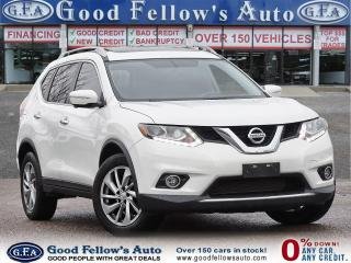 Used 2016 Nissan Rogue SL AWD, NAVI, LEATHER & HEATED SEATS, PANROOF for sale in Toronto, ON