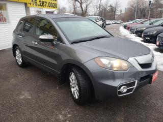 Used 2011 Acura RDX Tech pkg/AWD/NAVI/CAMERA/LEATHER/ROOF/ALLOYS for sale in Scarborough, ON