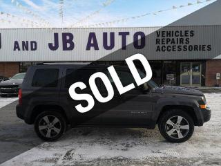 Used 2016 Jeep Patriot 4WD 4DR HIGH ALTITUDE EDITION for sale in Red Deer, AB