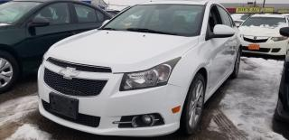 Used 2013 Chevrolet Cruze LT Turbo for sale in Pickering, ON