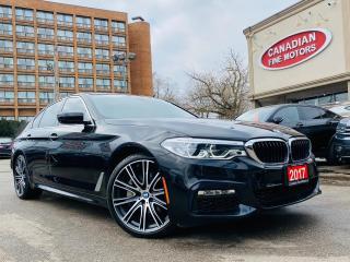 Used 2017 BMW 5 Series M SPORT PKG | NAVI | CAM | ROOF | WARR TILL NOV/21 for sale in Scarborough, ON