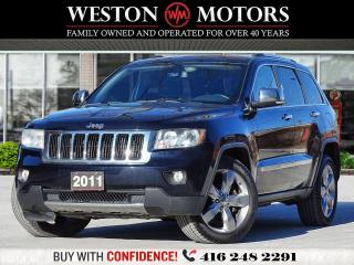 Used 2011 Jeep Grand Cherokee LIMITED*4X4*NAVI*REVCAM!!*PAN ROOF!!* for sale in Toronto, ON