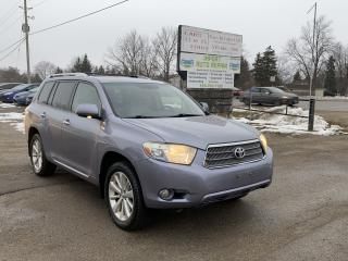 Used 2008 Toyota Highlander Hybrid LIMITED for sale in Komoka, ON