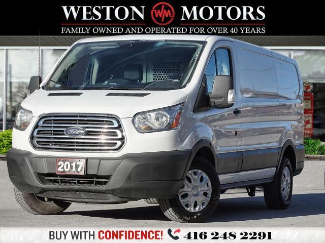 2017 Ford Transit 250 130WB*DIESELTURBO*REVCAM*BTOOTH*SHELVING!*