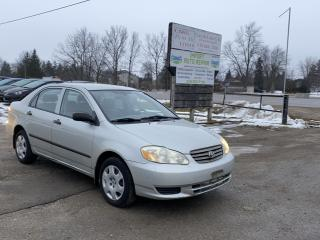 Used 2003 Toyota Corolla CE for sale in Komoka, ON
