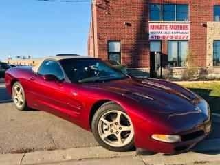 Used 2003 Chevrolet Corvette 50TH ANNIVERSARY 350 HP for sale in Rexdale, ON