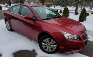 Used 2012 Chevrolet Cruze LT Turbo w/1SA for sale in Brampton, ON