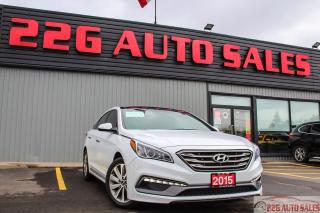 Used 2015 Hyundai Sonata 2.4L Sport|ACCIDENT FREE|BACKUP CAMERA| for sale in Brampton, ON