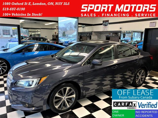 2016 Subaru Legacy 3.6R w/Limited TECH+Eye Sight+AWD+Accident Free