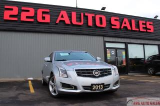 Used 2013 Cadillac ATS Luxury|BACKUP CAMERA|SUNROOF|LEATHER SEATS for sale in Brampton, ON