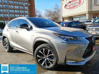 Used 2017 Lexus NX 200t AWD | RED LEATHER INT | ROOF | NAVI | CAM | ROOF | for sale in Scarborough, ON