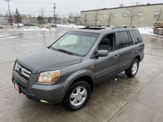 Used 2007 Honda Pilot EX-L, Navi, 8 Pass, 4WD, 3/Y Warranty Available for sale in Toronto, ON