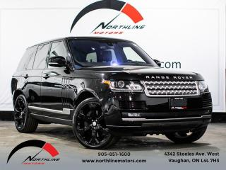 Used 2016 Land Rover Range Rover Supercharged/Navigation/Pano Roof/Soft Close Doors for sale in Vaughan, ON