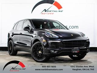 Used 2016 Porsche Cayenne S/Navigation/Red Leather/Pano for sale in Vaughan, ON