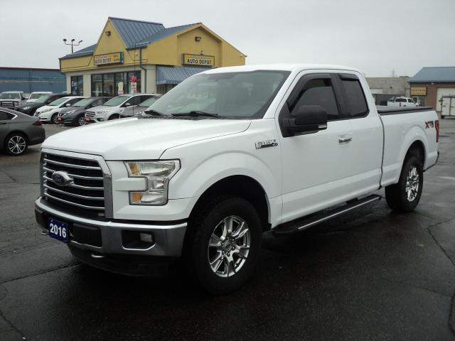 2016 Ford F-150 XLT SuperCab XRT4x4 5.0L 6.5ft Box BackUpCam