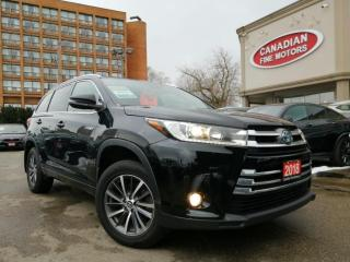 Used 2018 Toyota Highlander HYBRID CLEAN CARFAX   8 PASS   XLE   4 NEW SNOW TIRES* for sale in Scarborough, ON