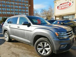 Used 2018 Volkswagen Atlas CLEAN CARFAX | NAVI| CAM| PANO | 4 NEW SNOW TIRES* for sale in Scarborough, ON