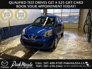 Used 2016 Nissan Micra for sale in Sherwood Park, AB
