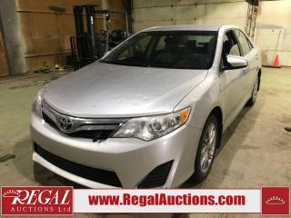 Used 2012 Toyota Camry 4D SEDAN for sale in Calgary, AB