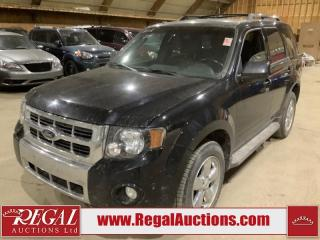 Used 2012 Ford Escape Limited 4D Utility AWD for sale in Calgary, AB