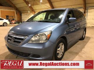 Used 2006 Honda Odyssey 4D Wagon FWD for sale in Calgary, AB