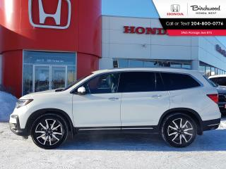 Used 2019 Honda Pilot Touring 7-Passenger Heated steering wheel, power tailgate, Navi - DVD - Apple CarPlay - Android Auto for sale in Winnipeg, MB