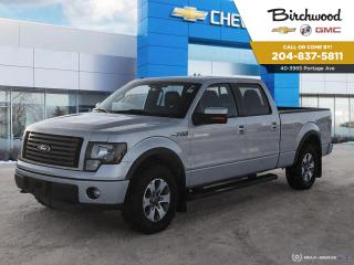 Used 2011 Ford F-150 FX4 As Traded 4X4*Local Vehicle/Crew Cab* for sale in Winnipeg, MB