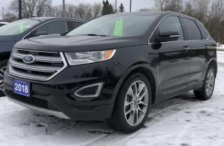 Used 2018 Ford Edge Titanium for sale in Brockville, ON