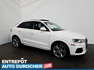 Used 2017 Audi Q3 Progressiv AWD - TOIT OUVRANT - SIÈGES CHAUFFANT for sale in Laval, QC
