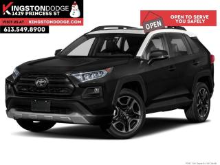 Used 2019 Toyota RAV4 Trail   AWD   ONE Owner   Leather   Sunroof for sale in Kingston, ON