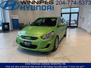 Used 2014 Hyundai Accent GL for sale in Winnipeg, MB
