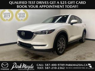 New 2021 Mazda CX-5 Signature for sale in Sherwood Park, AB