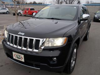 Used 2011 Jeep Grand Cherokee Overland for sale in Windsor, ON