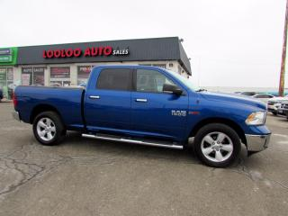Used 2015 RAM 1500 SLT Crew Cab 4WD Eco Diesel Camera Bluetooth Certified for sale in Milton, ON