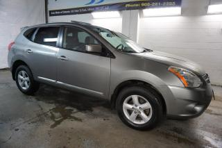 Used 2013 Nissan Rogue S CERTIFIED 2YR WARRANTY SUNROOF BLUETOOTH PARKING SENSORS ALLOYS AUX for sale in Milton, ON