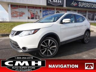 Used 2019 Nissan Qashqai AWD SL CVT for sale in St. Catharines, ON