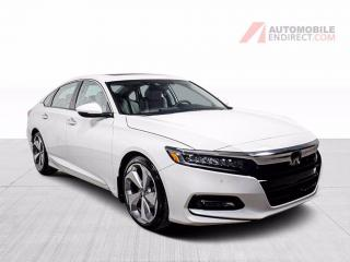 Used 2018 Honda Accord TOURING 2.0T CUIR TOIT NAV DETECTEUR ANGLES MORTS for sale in St-Hubert, QC